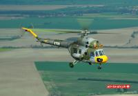 Mil Mi 2 air to air Tschechien Luftwaffe